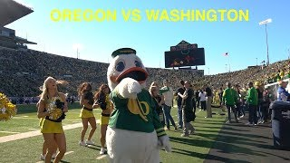 #17 University of Oregon vs #7 University of Washington | GAMEDAY VLOG_1