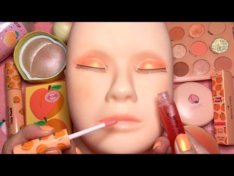 ASMR Makeup on Mannequin (Whispered)