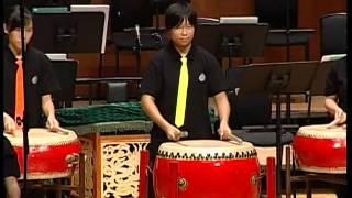 香港活力鼓令24式擂台賽(2005):賽馬會體藝中學