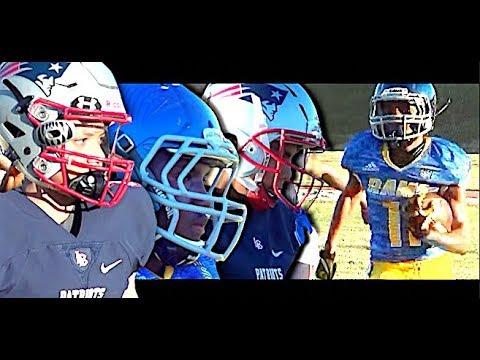 🔥🌴 Los Angeles vs Long Beach | 14U LA Rams vs LB Patriots - UTR Youth Football | Highlight Mix 2018