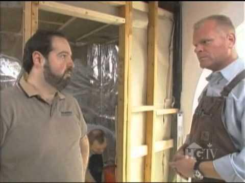 Holmes on Homes - Sauna Installation