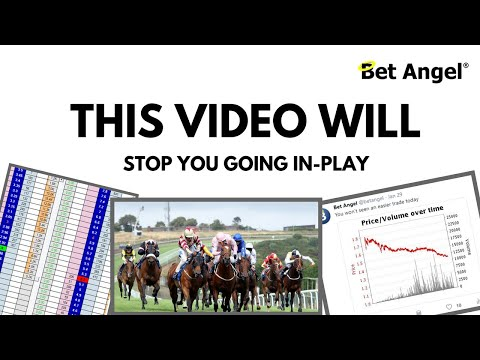 Peter Webb - Bet Angel - This video will stop you going in-play
