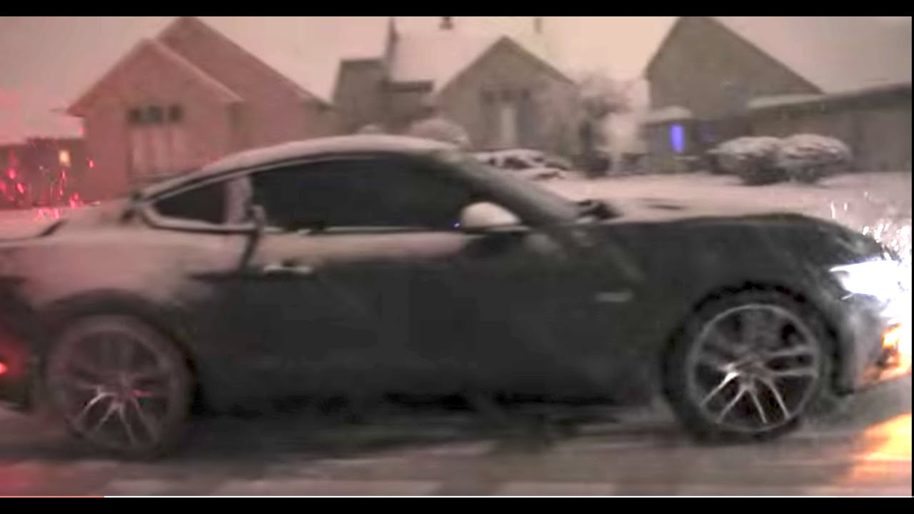 Review S550 Ford Mustang Gt In Michigan Snow With Winter Tires