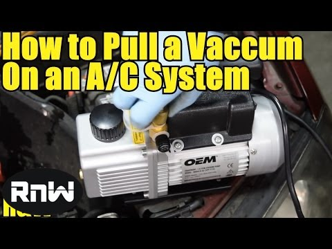 How to Pull a Vacuum on an AC System - Step by Step - YouTube