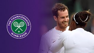 Wimbledon : Andy Murray et Serena Williams ambiancent le Court Central