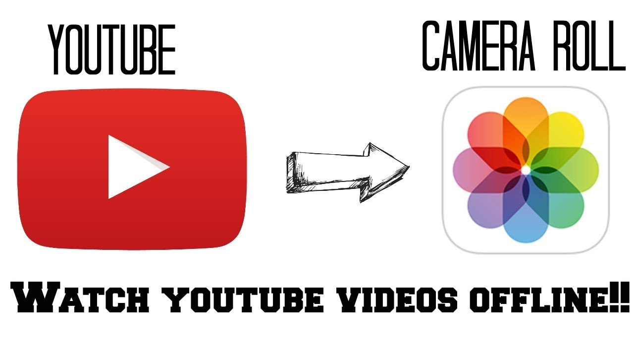 HOW TO SAVE YOUTUBE VIDEOS TO YOUR PHONE/CAMERA ROLL FOR IPHONE AND  ANDROID! 100% WORKS (July 2017)