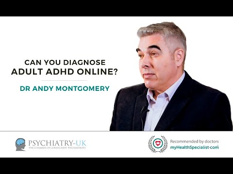 Can you diagnose Adult ADHD online?