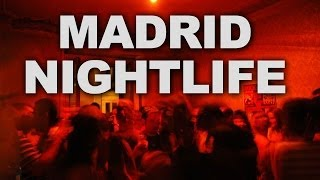 The Lively Nightlife of Madrid