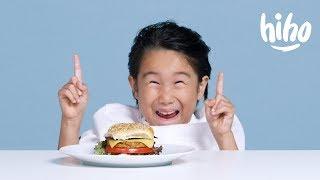 Дети Пробуют Вегетарианскую Еду!