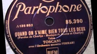 "Toscani ""Quand on s"