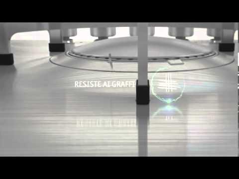 WHIRLPOOL - ACCIAO IXELIUM PIANI COTTURA E FORNI - YouTube