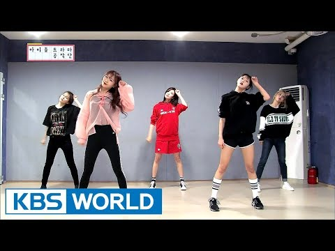 Practicing new choreography for the drama (feat.Girl Group Workaholics) [ENG/CHN/IDOT Ep.3]