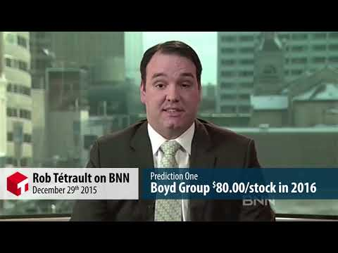 Boyd Group Income Fund BNN prediction video