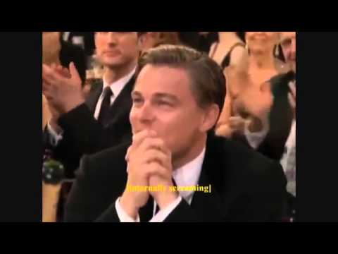 Реакция Леонардо Ди Каприо на вручение Оскара 2014/Leo DiCaprio Reaction to 2014 Best Actor Oscar