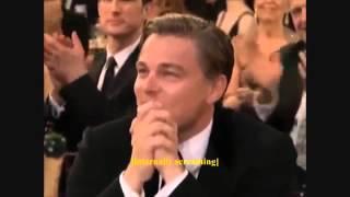 Реакция Леонардо Ди Каприо на вручение Оскара 2014/Leo DiCaprio Reaction to 2014 Best Actor Oscar