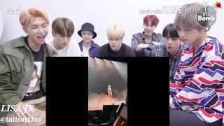 BTS REACTION TO BLACKPINK_S LISA IS K-POP_S QUEEN OF STAGE PRESENCE
