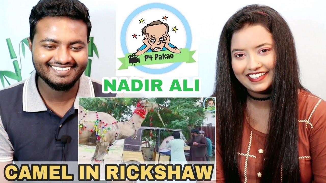 Indian Reaction on Nadir Ali   Camel In Rickshaw Prank