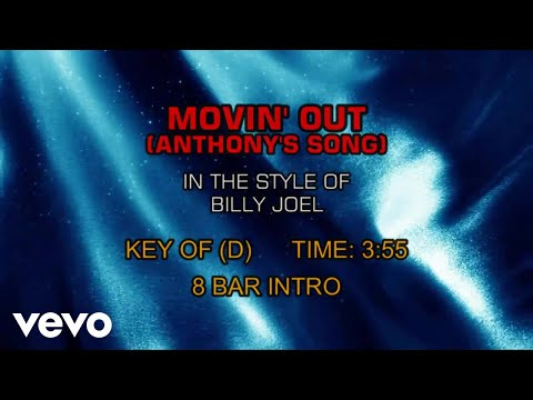 Billy Joel - Movin' Out (Anthony's Song) (Karaoke)