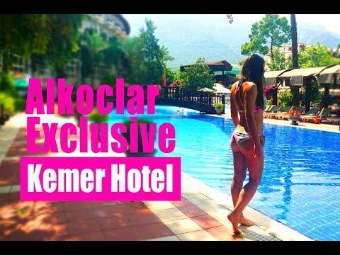Alkoclar Exclusive Kemer Hotel 5(1 часть). KEMER. Обзор отеля