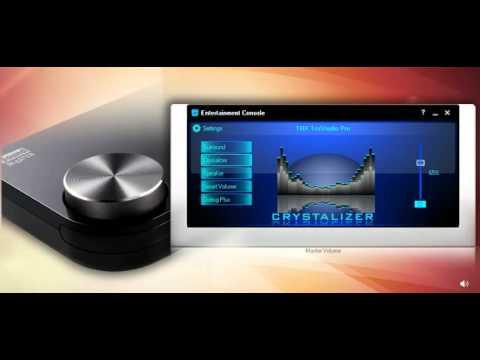 Creative Labs Sound Blaster X-Fi Surround 5.1 Pro Demo