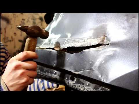 Рваное крыло под замену? Пробуем восстановить заднее крыло автомобиля Chevrolet Cruze.
