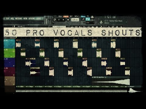 ¡FREE 50 EDM PRO VOCALS  SHOUTS! - Free Edm Vocals Sample Pack