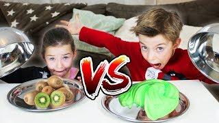 REAL FOOD vs. (KAU) GUMMY FOOD CHALLENGE 🍉  Lulu & Leon - Family and Fun thumbnail