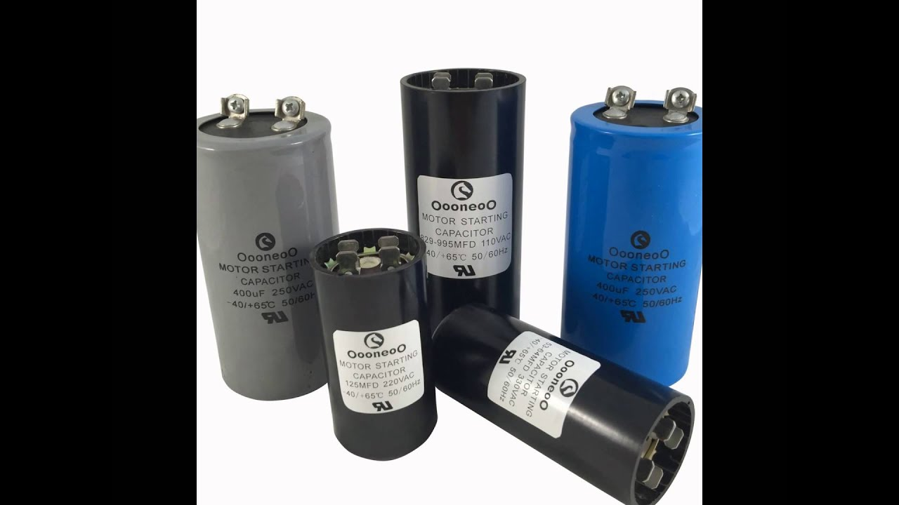 Start Capacitor For Pool Pump Start Capacitor Sizing Chart Start Capacitor Sizing Youtube
