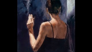Fabian Perez paintings ✽ Chris Spheeris / Eros