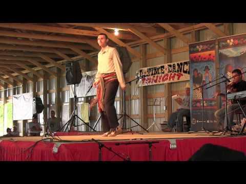 Scott Duffee at the John Arcand Fiddle Fest 2011