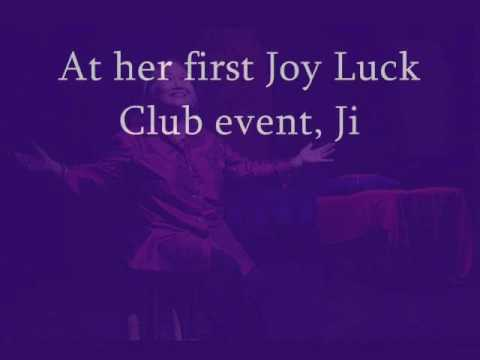 """conflicts resolved in the joy luck The joy luck club """"the joy luck club""""-""""scar what conflict begins to be resolved in this chapter explain joy luck club """"a pair of tickets."""
