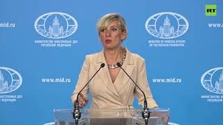 «В Русской православной церкви молятся за мир на Украине»: Захарова ответила на вопрос Цимбалюка