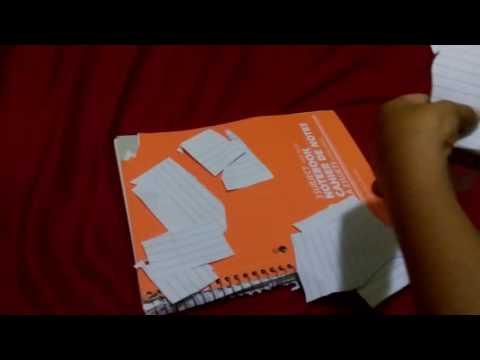 Papercraft Cutting paper in reverse