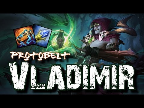 ¡VLADIMIR ESTÁ ROTO! 4K HP FREE ELO | PROTOBELT | Partida Didáctica | Garmy | League Of Legends