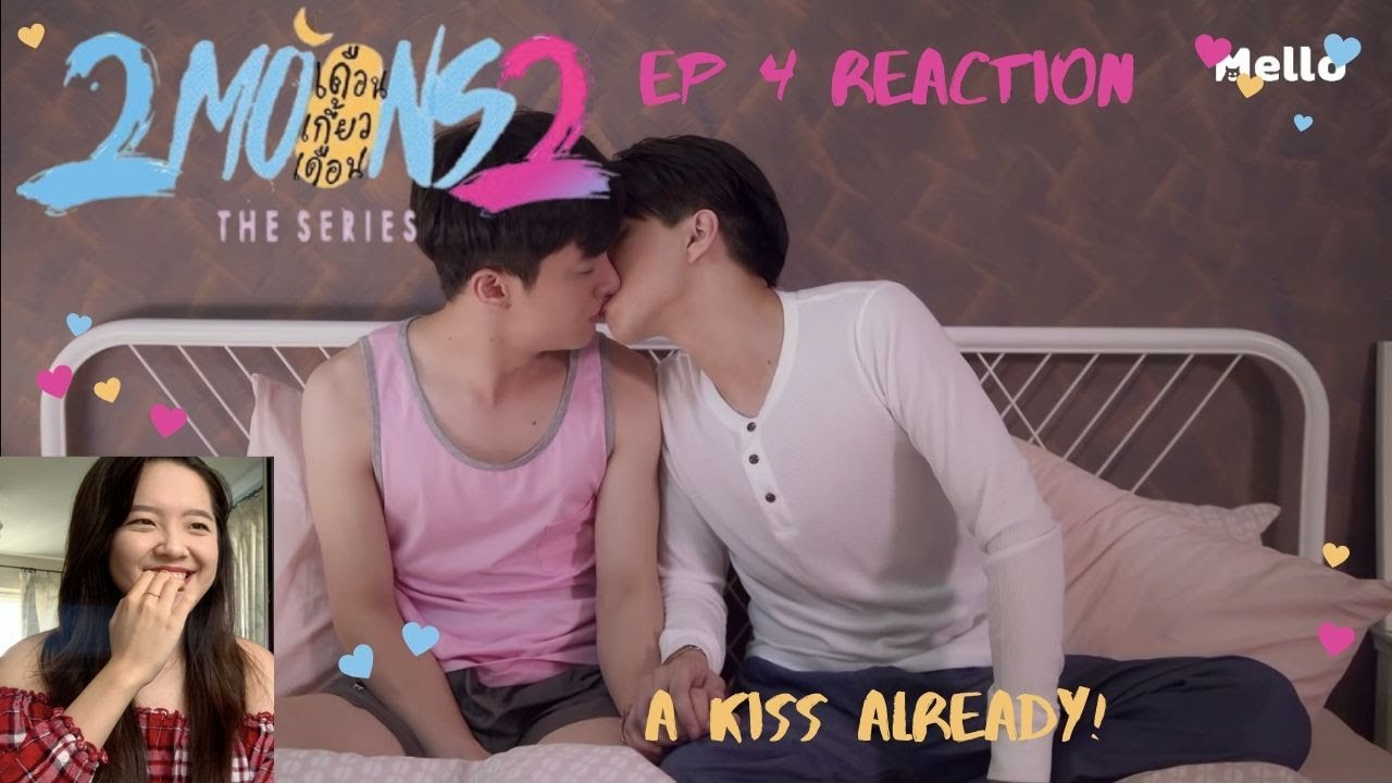 {Kiss already!?} 2Moons2 ep 4 reaction