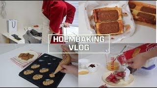 친구랑 하루종일 홈베이킹 하는 vlog: 로투스 브라우…