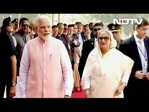 Trade, Porous Borders On Agenda As Sheikh Hasina Meets PM Modi