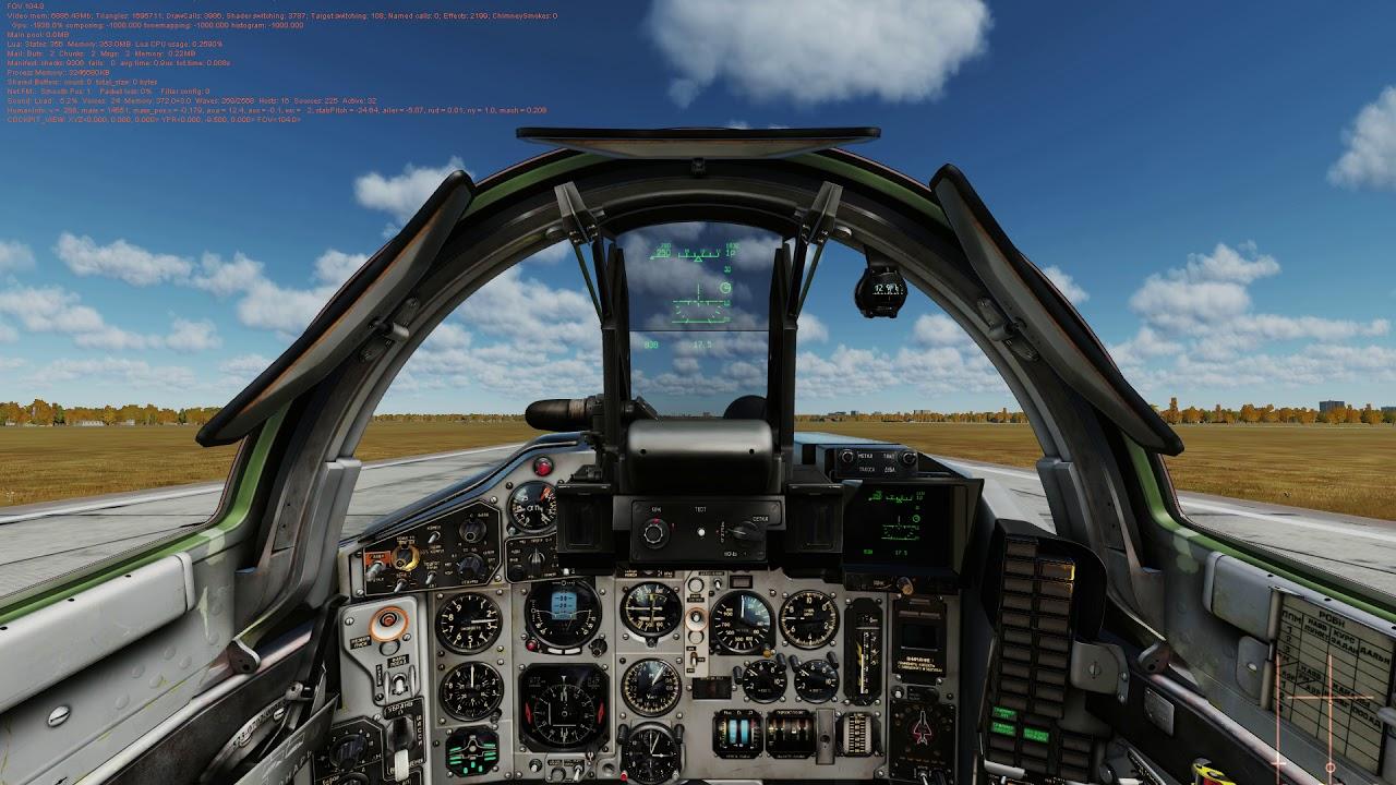 DCS MiG-29 PFM, real MiG-29 pilot perform landing