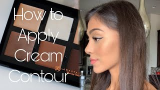 How to Apply Cream Contour for beginners | Chelseasmakeup