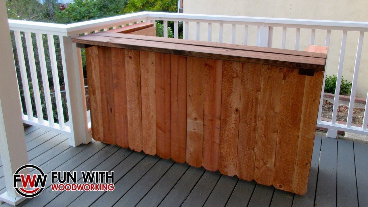 Project Build A Rustic Outdoor Bar Out Of 2x4 S And