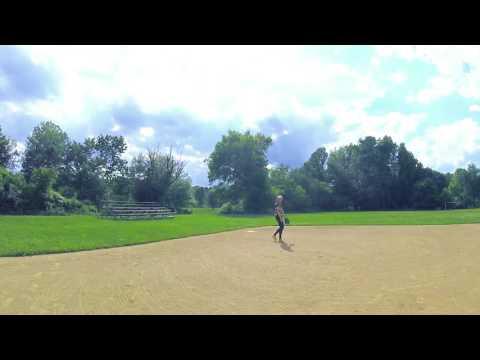 Taylor Cox College Softball Skills Video