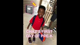 Chaz's OFFICIAL FIRST DAY OF PRE-K  | HE GOT INTO A FIGHT