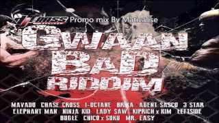 Gwaan Bad Riddim Mix {Dj Frass Records} [Dancehall] @Maticalise