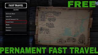 Red Dead Redemption 2 Pernament Fast Travel Unlocking Method Ps4