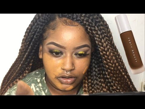 Rihanna Fenty Beauty Foundation Review| FOR BROWNSKIN| Hit Or Miss?