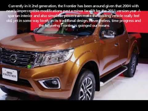 2019 Nissan Frontier Redesign Youtube