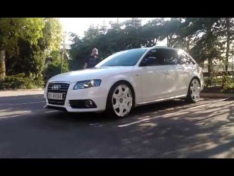 Airlift Audi A4 B8! with E-level by Accuair