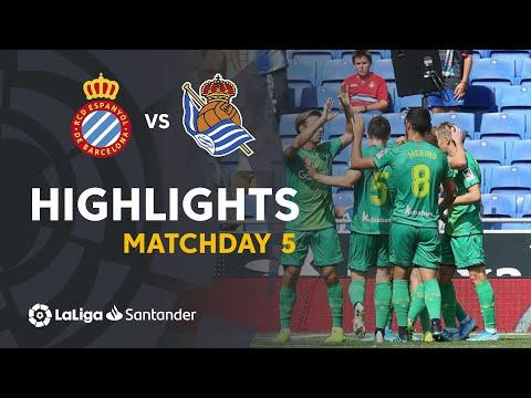 Highlights RCD Espanyol vs Real Sociedad (1-3)