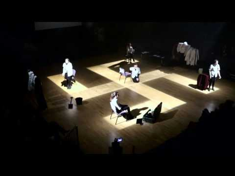 brechtian alienation in theater performance essay The alienation effect was brecht's principle of using by showing the instruments of theater and how they and professor of political performance at the.