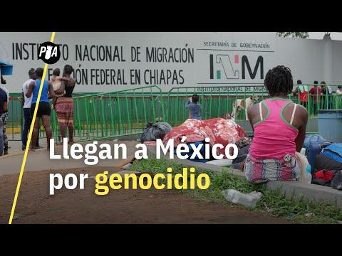Migran a México por culpa de un genocidio en Camerún